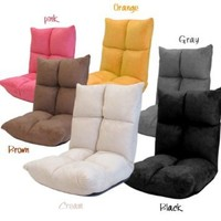 Futon Chair Recliners Floor Folding Chairs Living Room Gaming Chair: Home & Kitchen