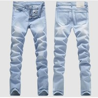 Men's Faded Denim jeans