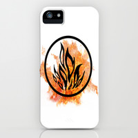 The Dauntless Divergent iPhone & iPod Case by AlixInsanity