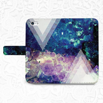 Arrow Abstract iPhone/smartphone flip PU leather Wallet case for iPhone 6, 6 plus, 5, 5s, 5c, iPhone 4, 4s- Samsung, Nexus 6, HTC M9