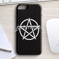 Pentagram Symbol Goth Metal Wiccan Magic iPhone 7 Case | armeyla.com