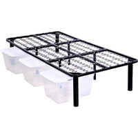 Mainstays Innovative Metal Platform Base Bed Frame, Multiple Sizes - Walmart.com