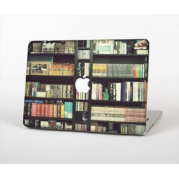The Vintage Bookcase V2 Skin Set for the Apple MacBook Air 13""