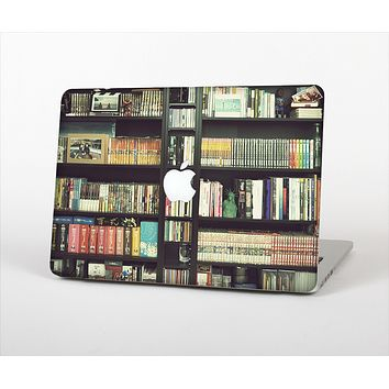 The Vintage Bookcase V2 Skin Set for the Apple MacBook Air 11""