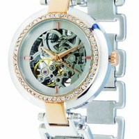 Kenneth Cole New York Women's KC4664 Blush Hour Crystal Accented Two-Tone Automatic Watch