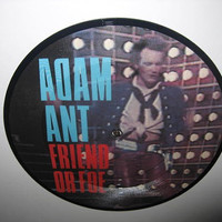 ROCKTOBER SALE Rare Vinyl Record Adam Ant  by JustCoolRecords