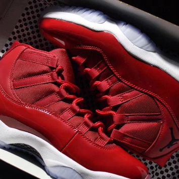 "Air Jordan 11 ""Win Like 96"" Gym Red Chicago 378037-623"