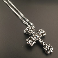 Stylish New Arrival Shiny Jewelry Gift Hot Sale Fashion Stainless Steel Hip-hop Club Necklace [6542761027]