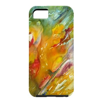 Rosie Brown Abstract 2 Cell Phone Case