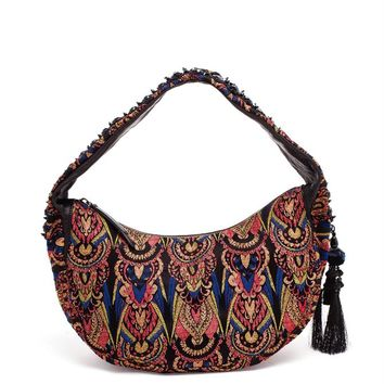 Jacquard Slouch Bag - DRIES VAN NOTEN