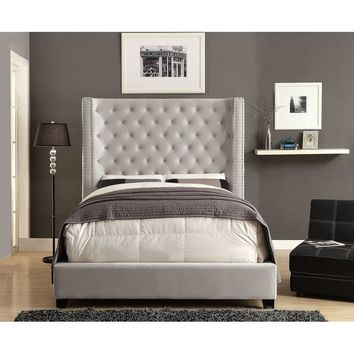Church Strett Upholstered Panel Bed