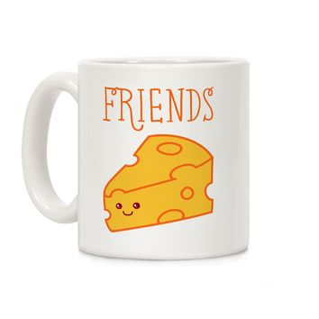 Best Friends Macaroni and Cheese 2 Ceramic Coffee Mug