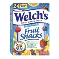 Welch's Mixed Fruit Fat Free Fruit Snacks 24 pk