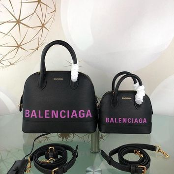 DCCK Balenciaga Trendy graffiti shell bag 26-12-22CM Samll 18-8-15CM Black Purple