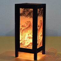 Royal Bengal Table Lantern Bedroom Lighting Home Decorate Lamp Vintage House Furniture Decoration
