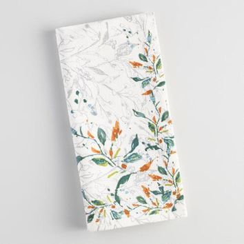 Klara Floral Napkins Set of 4