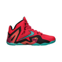 Nike LeBron 11 Elite Men's Basketball Shoes - Laser Crimson