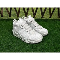 Nike Air More Uptempo ¡°Triple White¡± Sneakers