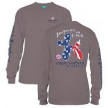 *closeout* Simply Southern Long Sleeve Tees- Balloon