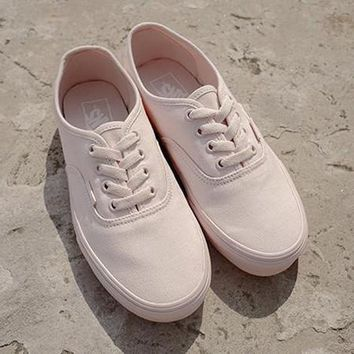 Vans Authentic Canvas Old Skool Flats Sneakers Sport Shoes