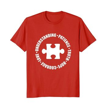 Patience and Hope Autism Awareness T-Shirt