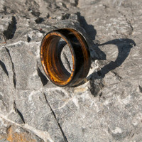 Ebony Wooden Ring, Wooden Promise Ring, Wedding Bands for Men