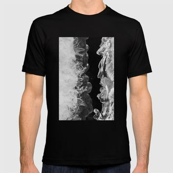 Icy Waves T-shirt by Cinema4design | Society6