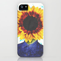 Sunflower iPhone & iPod Case by Troy Spino