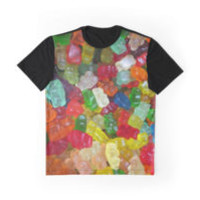 'Gummi Bears' Graphic T-Shirt by FlyNebula
