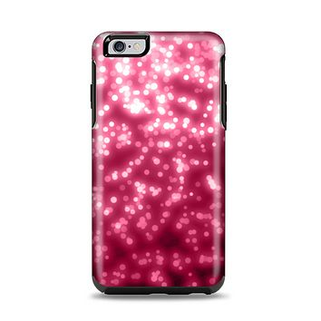 The Glowing Unfocused Pink Circles Apple iPhone 6 Plus Otterbox Symmetry Case Skin Set