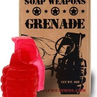 Seeing Red Soap Grenade