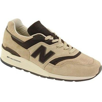 ICIKGQ8 new balance men 997 explore by sea m997dsai made in usa tan brown
