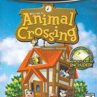 Animal Crossing w/ Memory Card - Player's Choice - Nintendo GameCube (Very Good)