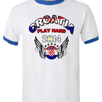CROATIA WORLD CUP T SHIRTS