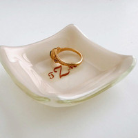 Personalized Ring Dish - Monogram Ring Dish
