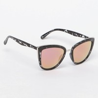 Quay My Girl Cat-Eye Black and Pink Sunglasses at PacSun.com