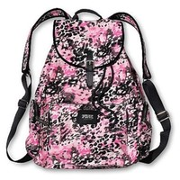 Victoria's Secret Pink Backpack Pink Leopard