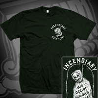 INC WE DECIDE TEE ON FOREST GREEN