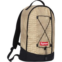 Supreme: Croc Backpack - Tan