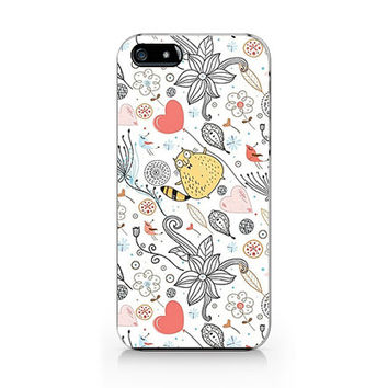 Q-023 flower pattern Iphone4/4s, iphone5/5s/5c, ip6, samsung s3/s4/s5/note3 case