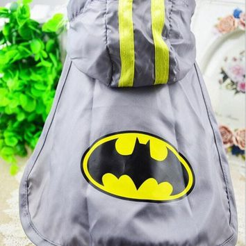 CREYUG3 2015 new spring and summer dog clothes pet clothing Batman Cape free transportation XS-XXL