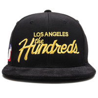 The Hundreds - Team Strapback Cap (Black/Yellow)