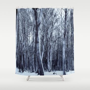 We Are The Trees Shower Curtain by Gallery One