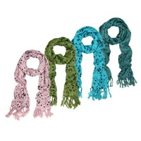Skulls & Stars Multi Print Rebel Scarf - Different Colors Available