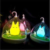 Totoro Cute Portable USB LED Night Lamp with Touch Sensor Light