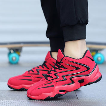 Hot sales!2017 High Top Men Canvas Shoes Men Casual Shoes with Air Sole Luxury Brand Men Shoes Height Increase for Gym Trainer