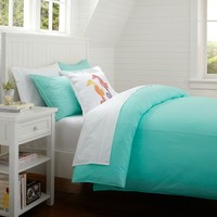 Color Wash Duvet + Sham