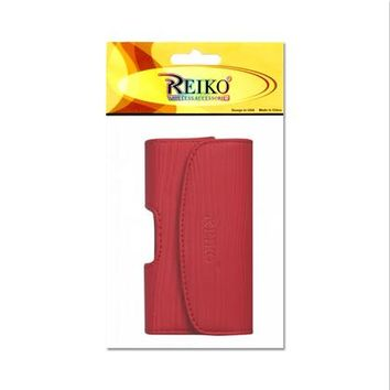 HORIZONTAL POUCH HP1025A MOTOROLA V9 RED 4X0.5X2.1 INCHES: Case Of 120