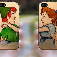 iphone 5s case,iphone 5 case,iphone 5c case,iphone 5s cases,iphone 5 cases,iphone 5c cases,cute iphone 5s case--peter pan and wendy.