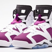 "Air Jordan 6 Retro Girls ""Vivid Pink"" Release Details"